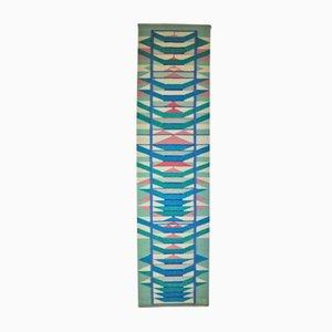 Scandinavian Handwoven Tapestry by Mette Birckner, 1980s