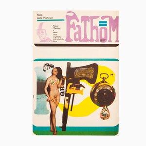 Fathom Movie Poster by Stanislav Vajce, 1969