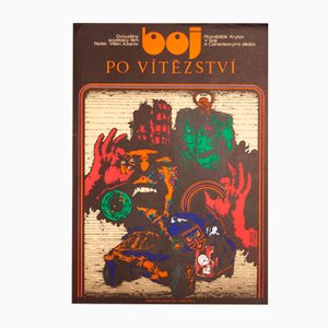 Poster del film The Fight for Victory di Miroslav Pechánek, 1973