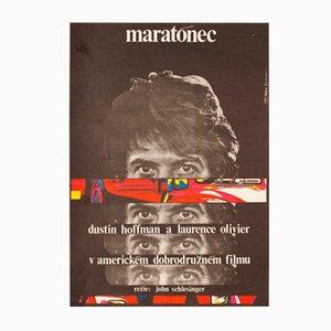 Affiche de Film Marathon Man par Milan Grygar, 1977