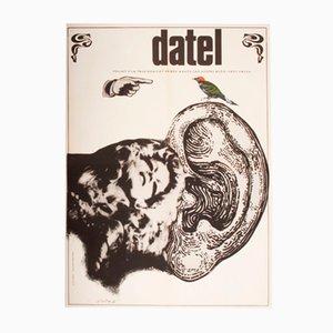 Poster del film The Woodpecker di Karel Teissig, 1970