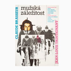 Une affaire d'hommes Filmposter von Zdeněk Ziegler, 1983