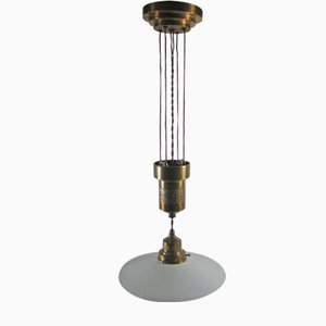 Art Nouvau Pendant Light, 1900s