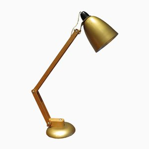 Gold Table Lamp by Terence Conran for Maclamp, 1960s
