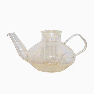 Vintage Teekanne aus Glas von Heinrich Löffelhardt für Schott