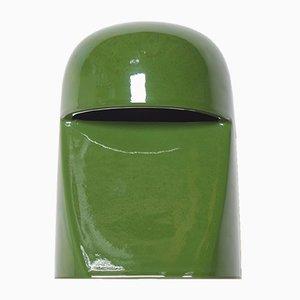 Keramik Tischlampe von Marcello Cuneo für Gabbianelli, 1960er