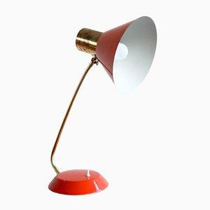 Lámpara de mesa regulable vintage, años 70