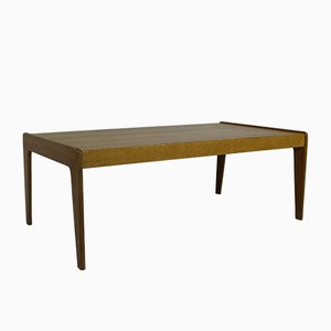 Mid-Century Teak Veneer Coffee Table by Arne Wahl Iversen for Komfort