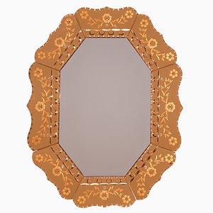 Specchio vintage Art Déco, anni '30