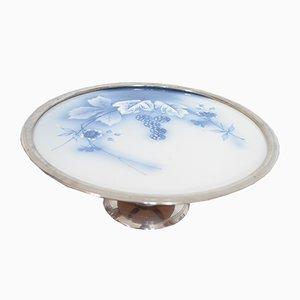 Antique Art Nouveau Cake Plate