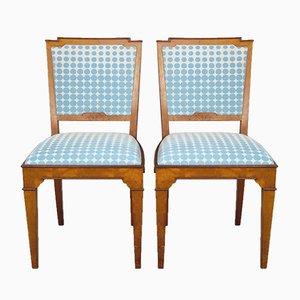 Chaises de Bureau Vintage, 1920s, Set de 2