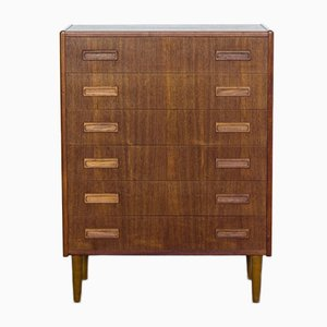 Mid-Century Chest of 6 Drawers in Teak from Westergaard