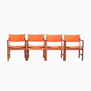 Mid-Century Armchair in Teak by Hans Wegner for Johannes Hansen