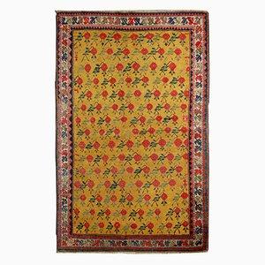 Antique Handmade Caucasian Karabagh Rug, 1880s