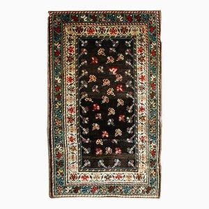 Tappeto antico Gendje caucasico fatto a mano, fine XIX secolo