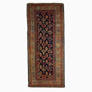 Antiker Handgefertigter Kaukasischer Gendje Teppich