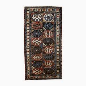 Antiker Handgefertigter Kaukasischer Kazak Mohan Teppich, 1880er