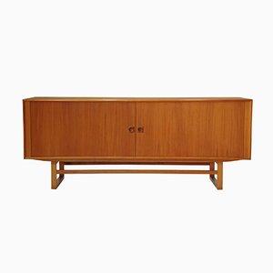 Vintage Scandinavian Modern Teak Tambour Sideboard from ACO Mobler