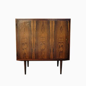 Vintage Small Cabinet in Rosewood Veneer by Poul Hundevad