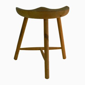 Tripod Stool by Arne Hovmand Olsen for Traevare, 1950s