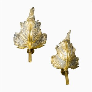 Vintage Sconces from Barovier e Toso, Set of 2