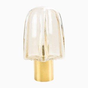 Lámpara de pared dorada de Limburg, años 60