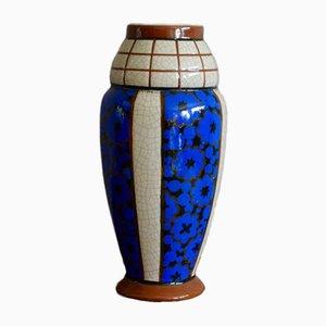 Vintage Art Deco Vase von Auguste Mouzin