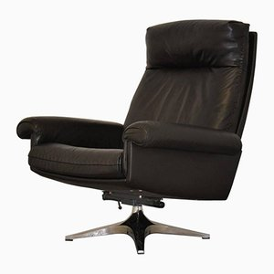 Vintage DS 31 High-Back Lounge Swivel Armchair from de Sede, 1970s