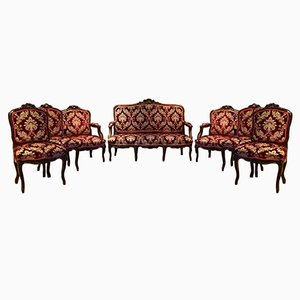 Set de Salon Antique du 19ème Siècle