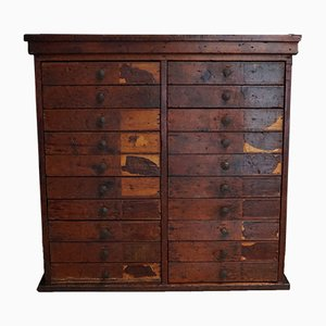 Vintage Dutch Pine Cabinet, 1950s