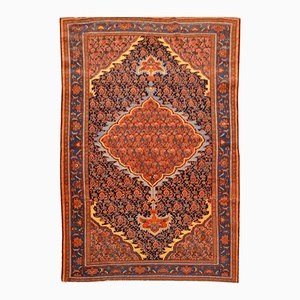 Antique Rug with Middle Eastern Design, 1880s