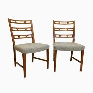 Vintage Swedish Chairs by David Rosén for Nordiska Kompaniet, Set of 2