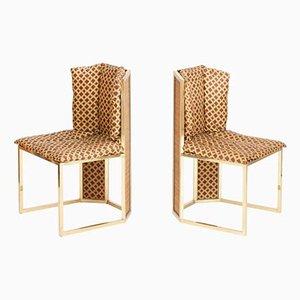 Chaises de Salon par Romeo Rega, Italie, 1970s, Set de 6