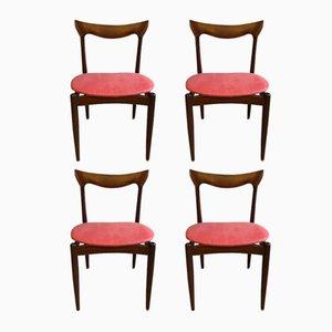 Esszimmerstühle von H.W. Klein für Bramin, 1960er, 4er Set