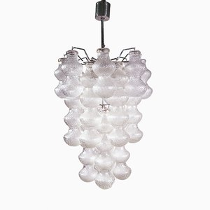 Bubble Glass Chandelier by Napoleone Martinuzzi for Seguso, 1960s