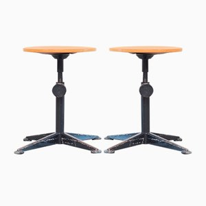 Swivel Stools by Friso Kramer for Ahrend de Cirkel, 1960s, Set of 2