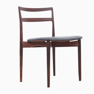 Rosewood Model 61 Chairs by Harry ØStergaard for Randers Møbelfabrik, 1961, Set of 6