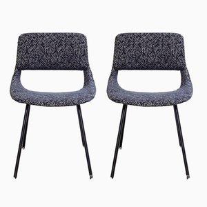 Vintage Stühle von Louis Paolozzi für Zol, 2er Set