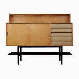 Ash and Grey Leatherette Buffet, 1955