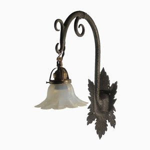 Antique Floral Wall Light