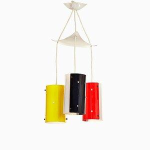 Lámpara de techo Mid-Century de plexiglás, años 50