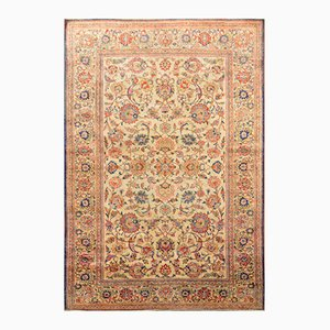 Antique Silk Middle Eastern Rug, 1900s