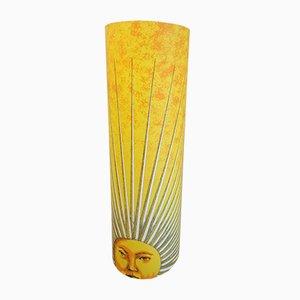 Lampada da terra Sole vintage di Fornasetti per Antonangeli, anni '90