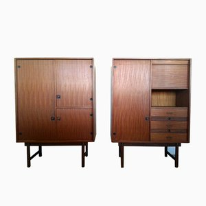 Cabinets, 1970s, Set of 2