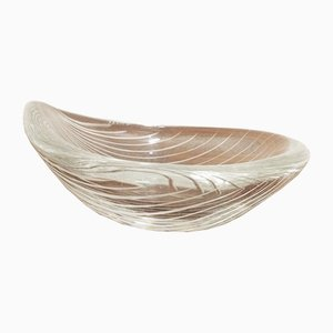 Mid-Century Glass Bowl by Tapio Wirkkala for Iittala, 1950s