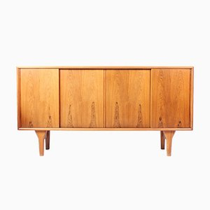 Mid-Century Rosewood Sideboard by Henning Kjærnulf for Bruno Hansen, 1960s