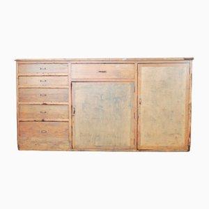 Mid-Century French Industrial Pine Dresser, 1950s