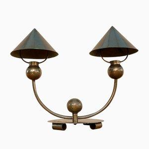 Lampada da tavolo modernista di Marc Errol per La Cremaillere, anni '30