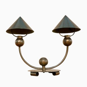 Lampe de Bureau Moderniste par Marc Errol pour La Cremaillere, 1930s