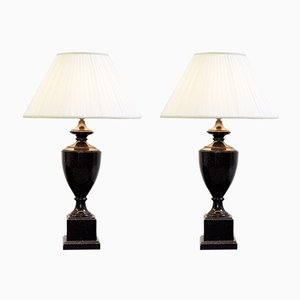 Vintage Table Lamps, 1980s, Set of 2
